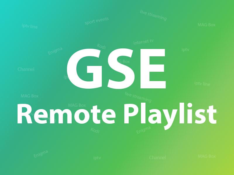 GSE Remote Palylist