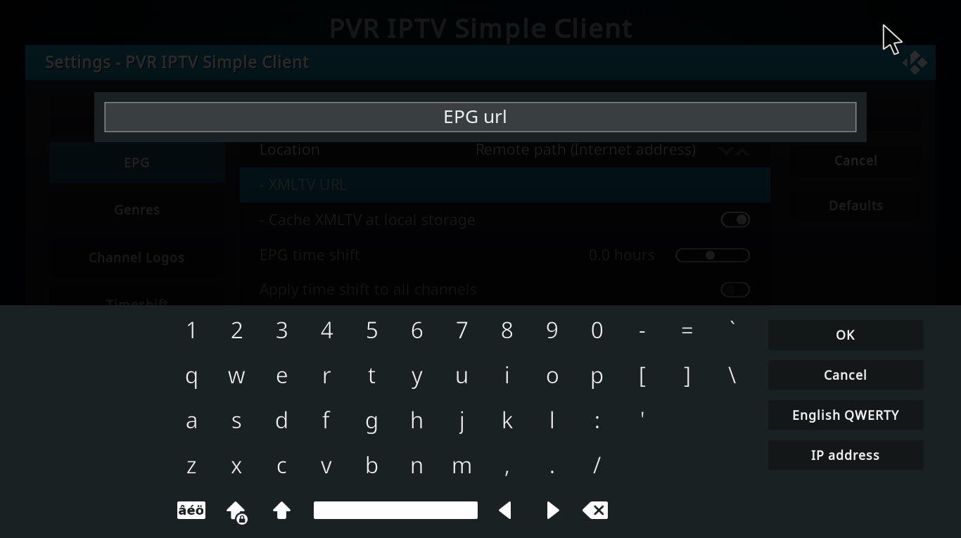 How to add EPG on Kodi