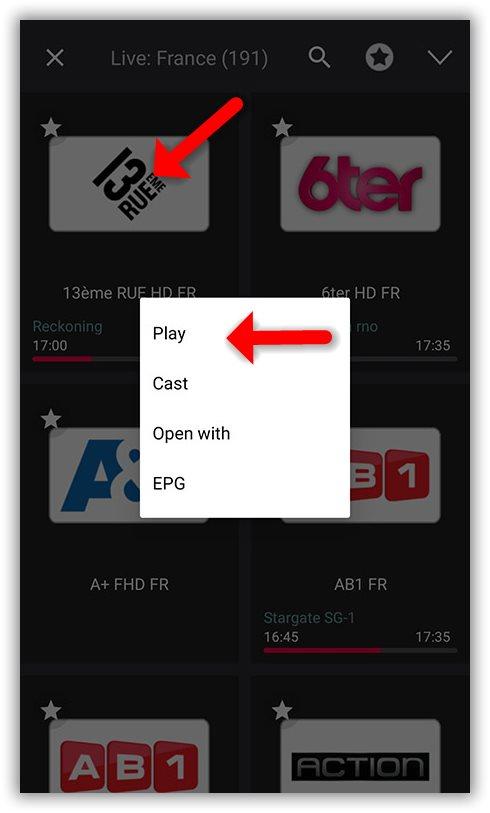 How to setup IPTV on GSE via Xtream-Codes API