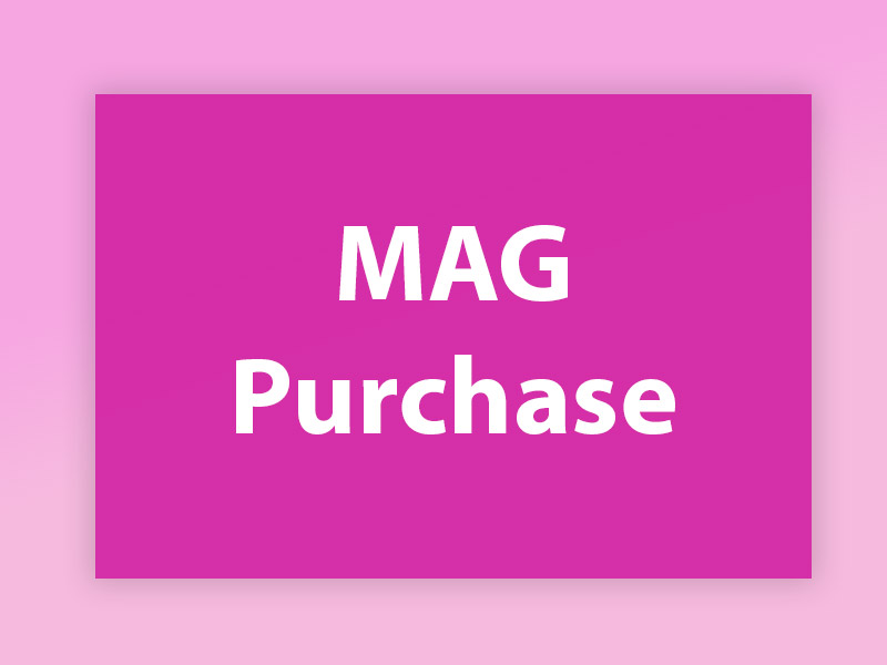 MAG Purchase guide