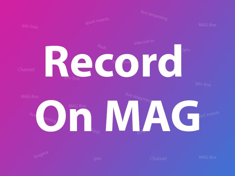 MAG record
