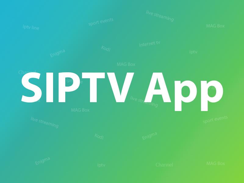 SIPTV app