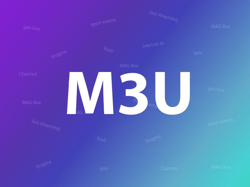 M3U url logo