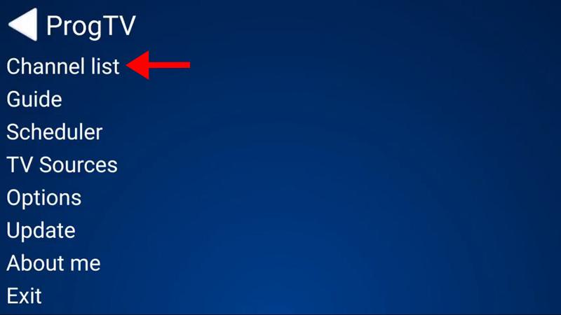 How to setup IPTV on ProgTV