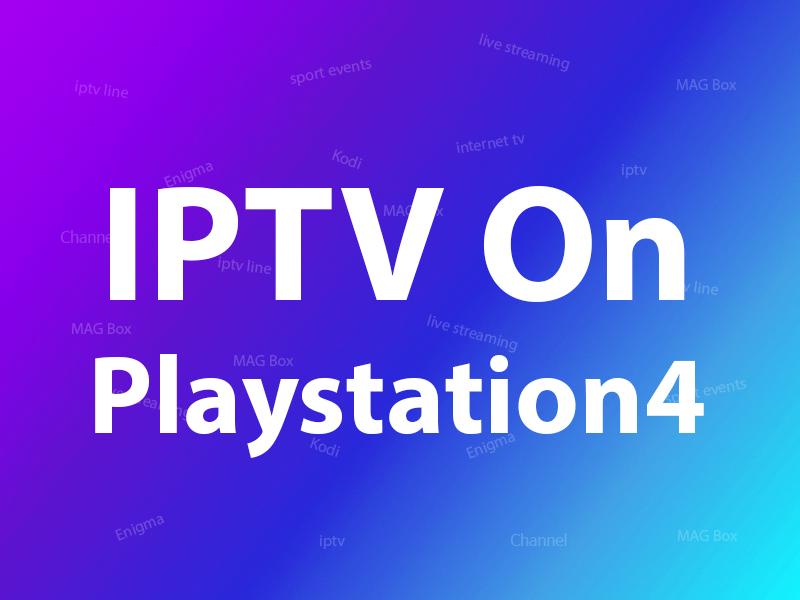 IPTV on Playstation 4