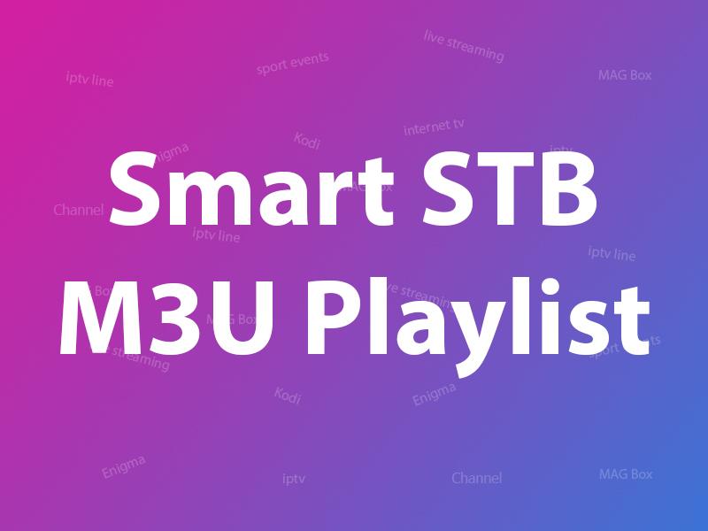 Smart STB (M3U version)