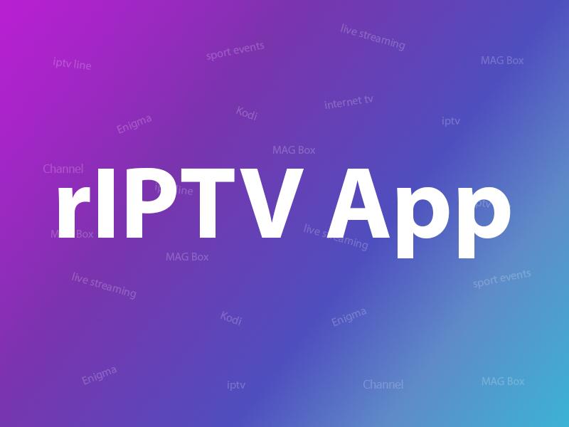 rIPTV app